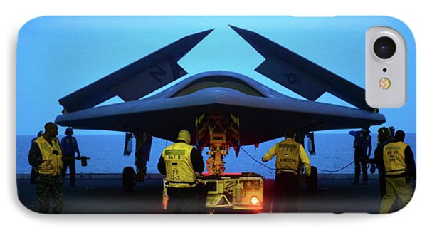 X-47b Unmanned Combat Air Vehicle IPhone Case