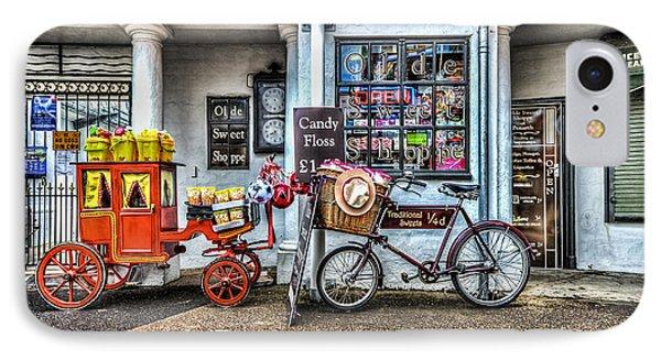 Ye Olde Sweet Shoppe IPhone Case by Steve Purnell