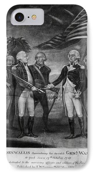 Yorktown Surrender, 1781 IPhone Case
