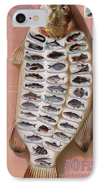 50 Fish From American Waters Phone Case by Georgia Fowler