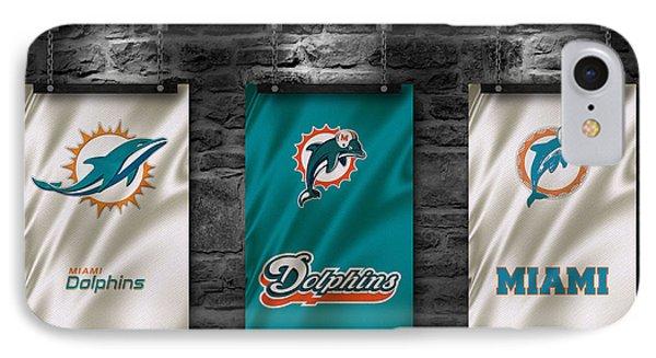 Miami Dolphins IPhone Case by Joe Hamilton