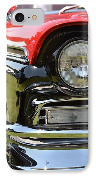 IPhone Case featuring the photograph 50's Ford by Dean Ferreira