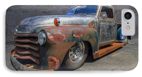 52 Chevy Truck Phone Case by Debra and Dave Vanderlaan