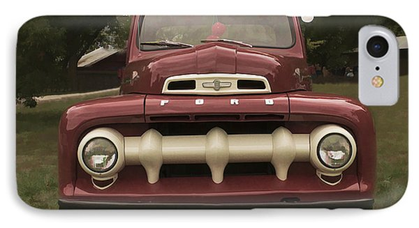 IPhone Case featuring the photograph '52 Ford Pickup by Wayne Meyer