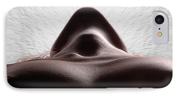 5338 Radiating Power A Fine Art Nude By Chris Maher 1 To 3 Ratio IPhone Case by Chris Maher