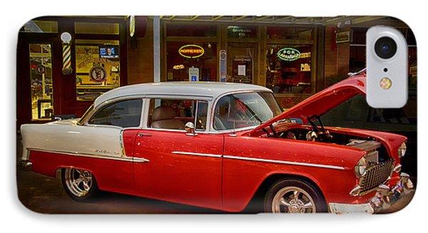 55 Chevy Belair Phone Case by Saija  Lehtonen
