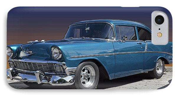56 Chevy IPhone Case by Robert Meanor