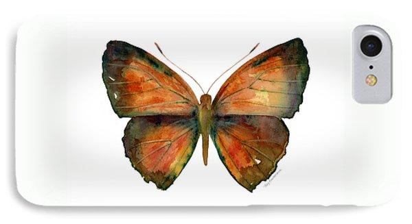 56 Copper Jewel Butterfly Phone Case by Amy Kirkpatrick