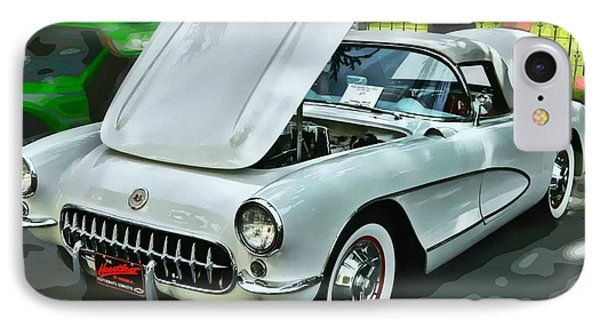 IPhone Case featuring the photograph '56 Corvette by Victor Montgomery