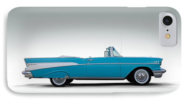 57 Chevy Convertible IPhone Case by Douglas Pittman