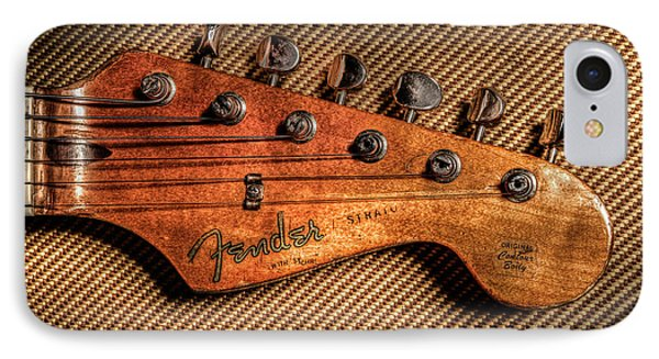 '57 Stratocaster IPhone Case by Ray Congrove