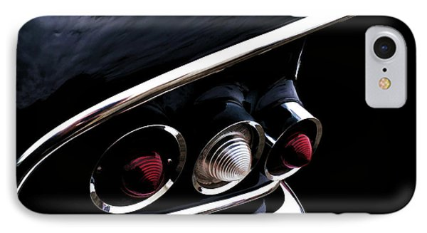 '58 Chevy Impala Fin IPhone Case by Douglas Pittman