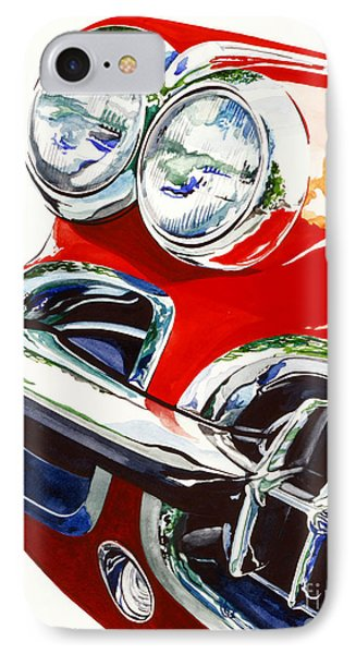 58 Corvette Phone Case by Rick Mock