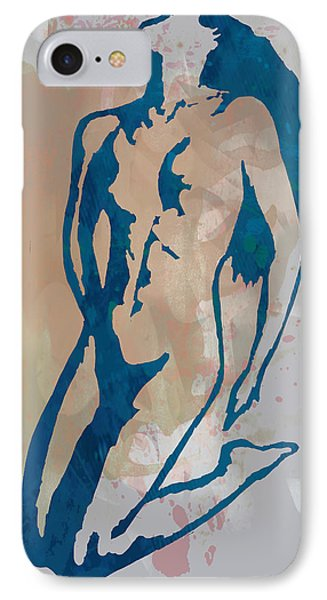 Nude Pop Stylised Art Poster IPhone Case