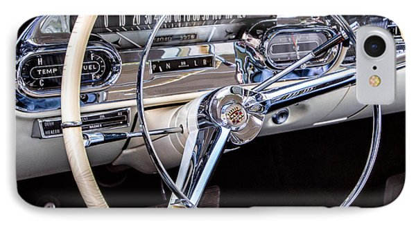 58 Cadillac Dashboard IPhone Case by Jerry Fornarotto