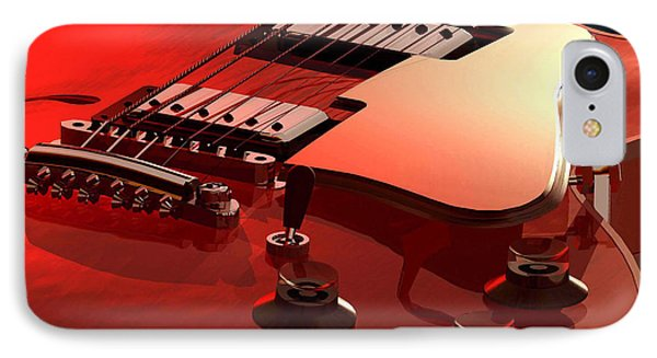 '59 Dot Neck Gibson Es-335 Phone Case by Dan Terry