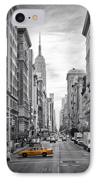 New York City 5th Avenue IPhone Case by Melanie Viola