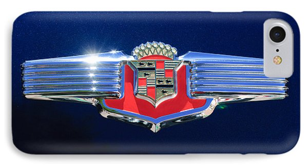 1941 Cadillac Emblem IPhone Case by Jill Reger