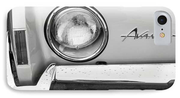 1963 Studebaker Avanti Emblem IPhone Case by Jill Reger