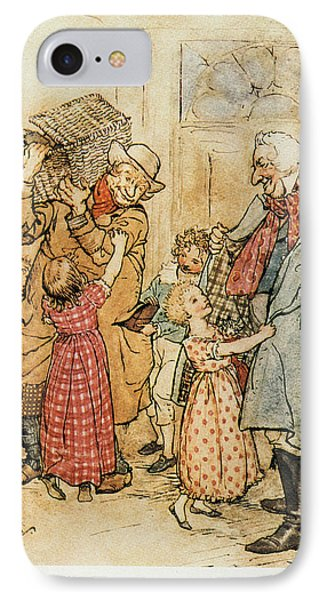 A Christmas Carol IPhone Case by Granger