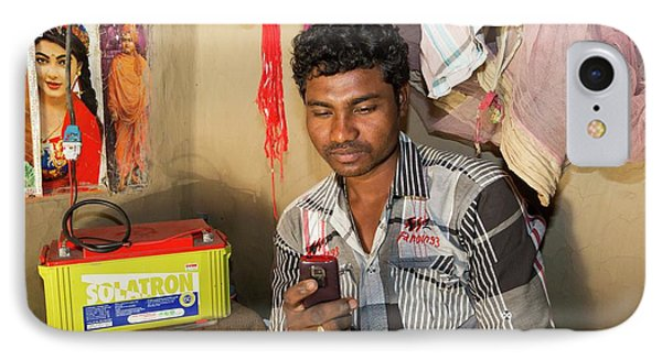 A Wwf Project To Supply Electricity IPhone Case