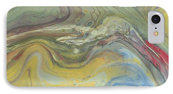 Acrylic Pour Phone Case by Sonya Wilson