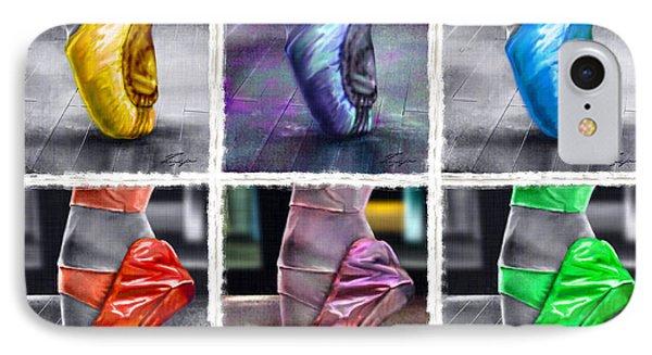 6 Ballerinas Dancing IPhone Case
