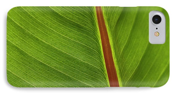 Banana Leaf Phone Case by Heiko Koehrer-Wagner