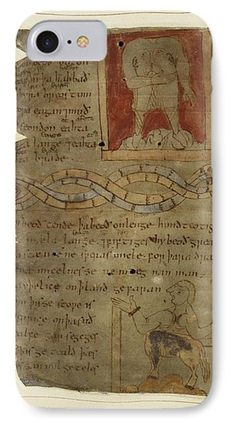 Beowulf An Epic Poem IPhone Case by British Library