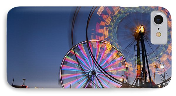 Evergreen State Fair With Ferris Wheel IPhone Case