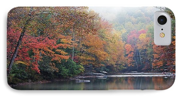 Fall Color Williams River Phone Case by Thomas R Fletcher