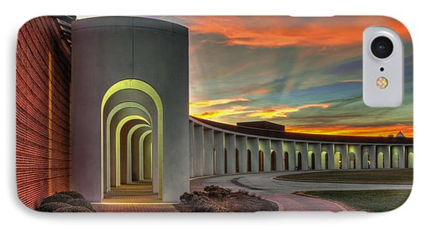 Ferguson Center For The Arts IPhone Case by Jerry Gammon
