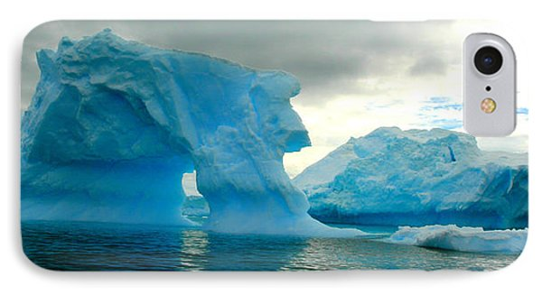 IPhone Case featuring the photograph Icebergs by Amanda Stadther