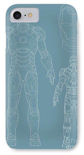 Iron Man Phone Case by Caio Caldas