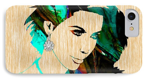 Kim Kardashian Collection IPhone Case by Marvin Blaine
