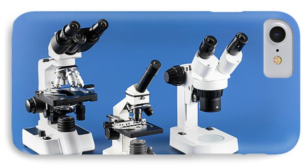 Laboratory Microscope IPhone Case