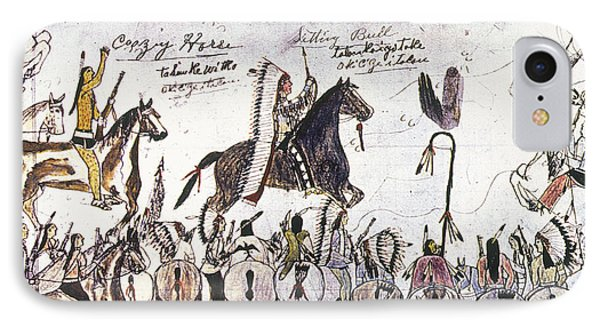 Little Bighorn, 1876 IPhone Case by Granger