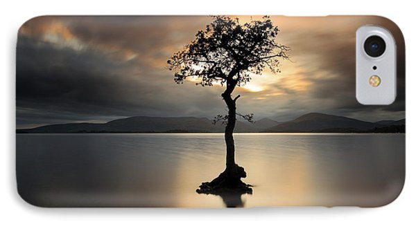 Loch Lomond Sunset IPhone Case by Grant Glendinning