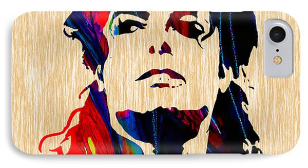 Michael Jackson Painting IPhone Case