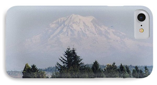 IPhone Case featuring the photograph Mount Rainier  by Myrna Walsh