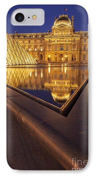 Musee Du Louvre Phone Case by Brian Jannsen