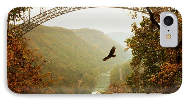 New River Gorge Bridge IPhone Case by Mary Almond
