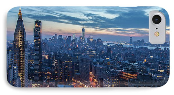 New York City, Ny, Usa IPhone Case by Julien Mcroberts