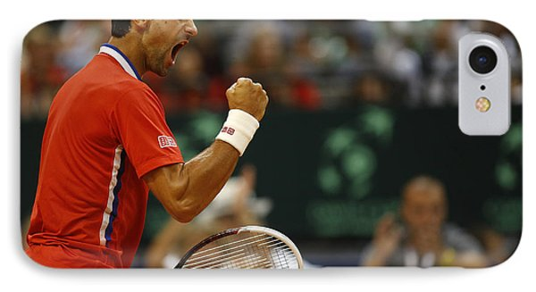 Novak Djokovic IPhone Case