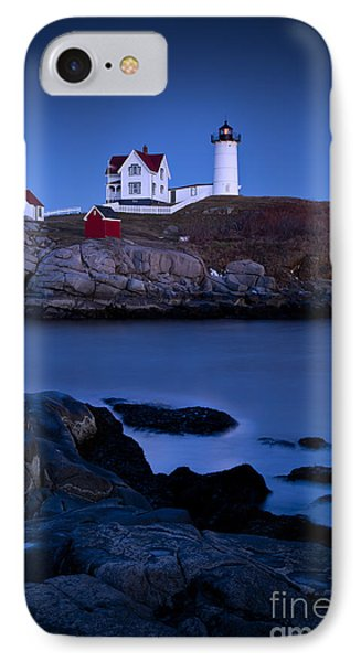 Nubble Lighthouse IPhone Case by Brian Jannsen