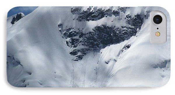 Peru Mountain Snow IPhone Case by Ted Pollard