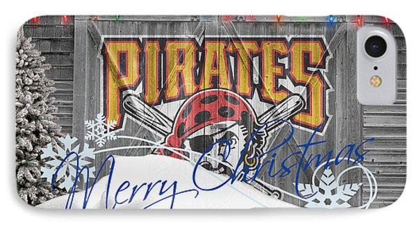 Pittsburgh Pirates IPhone Case by Joe Hamilton