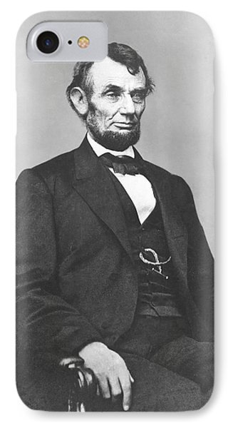 President Lincoln Phone Case by War Is Hell Store