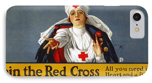 Red Cross Poster, 1917 Phone Case by Granger