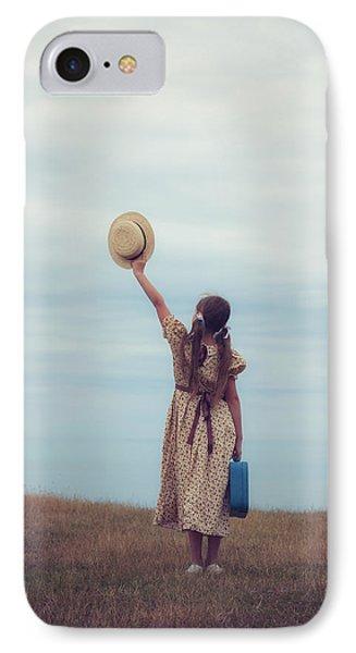 Refugee Girl Phone Case by Joana Kruse